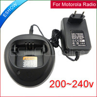 Wholesale GP3688 CP040 EP450 CP380 Radio Battery Charger v for Motorola walkie talkie J0099A