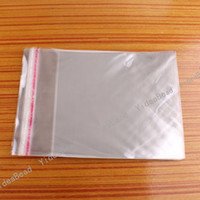 Wholesale 600 Clear Self Adhesive Seal Plastic Bags Opp Packing Bag Fit Jewelry x14cm