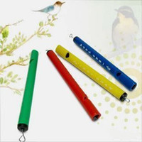 Wholesale wholsale Mini Bird whistle Children Puzzle Toy Tubular Music Rhythm Birds Flute Lark W
