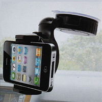 Wholesale Car Universal Holder Car telephone Holder for iphone degree rotating mini car phone holder