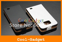 Wholesale Real Genuine Flip Leather Pouch Case Cover for Samsung I9100 Galaxy S2 S II S SSI9100C55