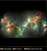 Wholesale Hand Blown Glass Art Decoratiove Lighting as Wall Decor LRW0010