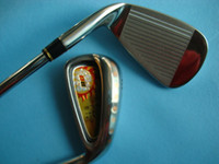 Wholesale 2011 Grenda D8 golf China NO brand golf irons PS steel shaft R S flex golf clubs