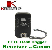 Wholesale Wireless E TTL Flash Trigger Single Receiver For EX EX EX II GHz Sync S