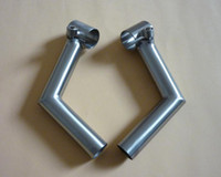 aerospace titanium - Titanium Bicycle parts Handle Bar End Aerospace grade AL V Ti Clamp Bore Q25