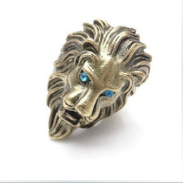 Wholesale 2011 New EuropeAand The Tide Restoring Ancient Ways Head Lion King Ring Ring Adorn Article