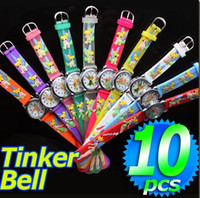 Wholesale Cute Tinker Bell Cartoon Watch children Watch kid watch