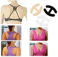 Wholesale Free ship Cleavage Clips Breast Adjust Bra Clip Bra Straps Extender Control Bra Clips