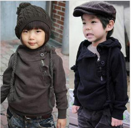 Wholesale Belbaby brand boys amp girls play wear coat long sleeve shirt gray navy wt96042