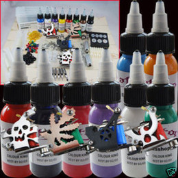Wholesale 4 Tattoo Machine Gun Grips Tattoo Ink Tattoo Kits
