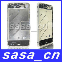 Original Silver Middle Chassis Plate Bezel Frame For iPhone ...