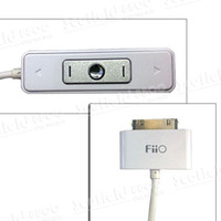 Wholesale Hot Sale FiiO E1 White Portable Headphone Amplifier AMP for Apple iPhone G S GS iPod MP3 MP4