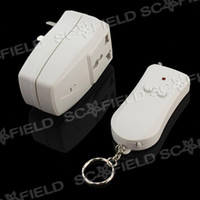Wholesale xmas Channel Wireless Remote Controlled Plug Socket with Single Keychain Transmitter EL106569