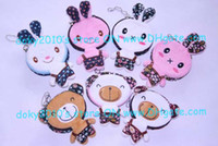 Wholesale MOQ piece Contact Lens Case Animal Design Big Soft Cloth