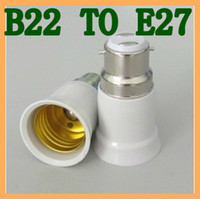 Wholesale LED Converter Light Bulb Lamp Adapter B22 to E27 Base