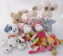 Wholesale Abar Kids Preferred Healthy Baby Comfort Cuddly Doll Rattle Allergy Safe Lovey NWT