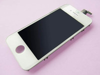 Wholesale 2012 For iphone New LCD Screen BLACK amp WHITE Display amp Touch Digitizer Complete Assembly Replacement