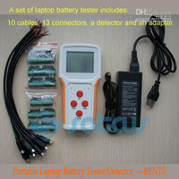 Wholesale New Portable Laptop Battery Detectors Testers Analyzer Segment LCD Screen LED Indicator RFNT3