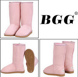 Wholesale 2012 Xmas gift pairs Women s snow Winter BGG boot Classic Tall short baily button boots il8uh