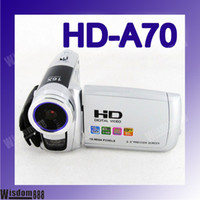 Wholesale Anti Shake TV out MP X HD Digital Video Camera Camcorder HD A70