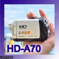 Wholesale 4GB HD A70 Mega Pixels inch TFT X ZOOM M Memory DSLR Camera Camcorder HD DV A70