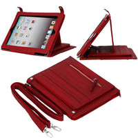 Wholesale Folio Flip Carry Bag Sleeve Stand Leather Case For Apple ipad