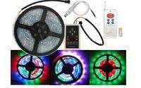 Wholesale Dream color LED Strip light RGB SMD IC Magic intelligent waterproof IP66 LED M Program RF Controller FreeShipping best2011
