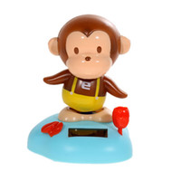 Cheap Solar Power Head Shaking Monkey Doll Toy