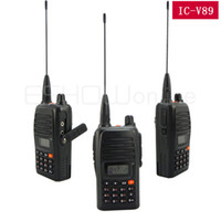Wholesale Portable Single Band Walkie Talkie Watt VHF OR UHF188 CH IC V89 For ICOM Two Way Radio A0804A
