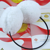 Wholesale Winter Fashion Cute Earmuffs Soft Plush Unisex Soft Earcap Ear Warmer