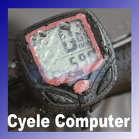 Wholesale Waterproof Compact and Slim LCD Bike Cycle Computer Odometer Bicycle Speedometer cable AG13A