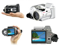 Wholesale Digital Camera LCD display HD7000T High Definition Camcorder long focus MP XMAS Gift pc