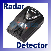 Wholesale Convenient Full Band Car Radar Detectors Voice for GPS Navigator A380 New