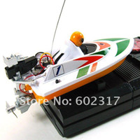 Wholesale New RC micro mini racing boat motor HQ remote radio control boat model three colors optional RTR