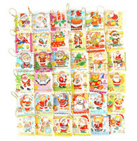 Wholesale Christmas Cards Christmas Hanging Cards Christmas Ornament pack