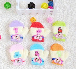 Wholesale HOT Baby Gloves baby mittens kids hands protect care gloves warm keeping nice glove for todders