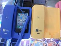 kk - 20pcs color Anti cellphone Telephone Handset Dock for Iphone GS G kk