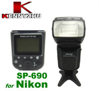 Wholesale Speedlite Speedlight OLOONG SP For Nikon i TTL Autoflash Flash Light GN LCD Display