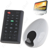 Wholesale Wireless Multimedia Infrared IR Remote Control with Mouse Function USB Receiver for PC Computer