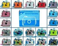 Wholesale 40pcs Waterproof LOMO Camera Diving camera mm Film Camera styles High quality drop shipping