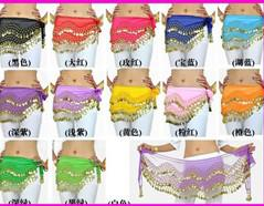 Wholesale Belly Dance Hip Skirt Scarf Scarf Belly Bance Belt Belly Dance Accessory Hot Sell