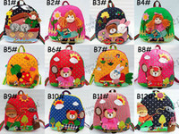 Wholesale Featured Children s backpacks baby Kids Handmade Backpack Schoolbag school bags Satchel book bag