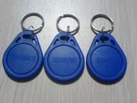Wholesale 100pcs re writable keys MHz Nfc Proximity Mifare s50 Rfid Tag Keyfobs Smart Tag