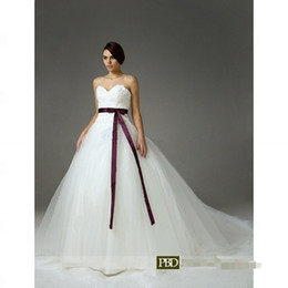 Wholesale 2013 HOT BEAUTIFUL Bride Wars Ball Gown Sweetheart Chapel Train Satin Tulle Celebrity Wedding Dress