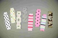 Wholesale 48PCS Baby Sweet Leg warmers Legs knee sock warmers socks Cotton Warmer Toddle legging trade158