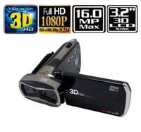 Wholesale 3D Full HD Digital Camera DV Camcorder SPEED FX H10 P LCD MP AV HDMI Output