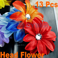 Hair Clips Blending Solid Children's Hairpin Baby Girl Lady Crochet Crystal Tropical Head Flower Hair Accessories Clip Adeal #1968