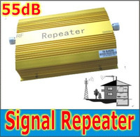 Wholesale 500 Square GSM MHz Booster Mobile Signal Repeater dB MHz Cell phone signal
