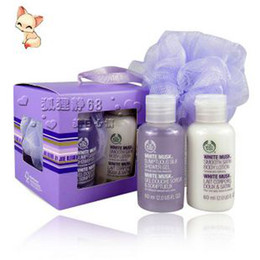 Wholesale The body shop white musk body care mini set Professional care Gift