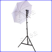 Wholesale Photo Studio Light Stand m With Umbrella Flash Mount kit For ex ex sb800 sb900